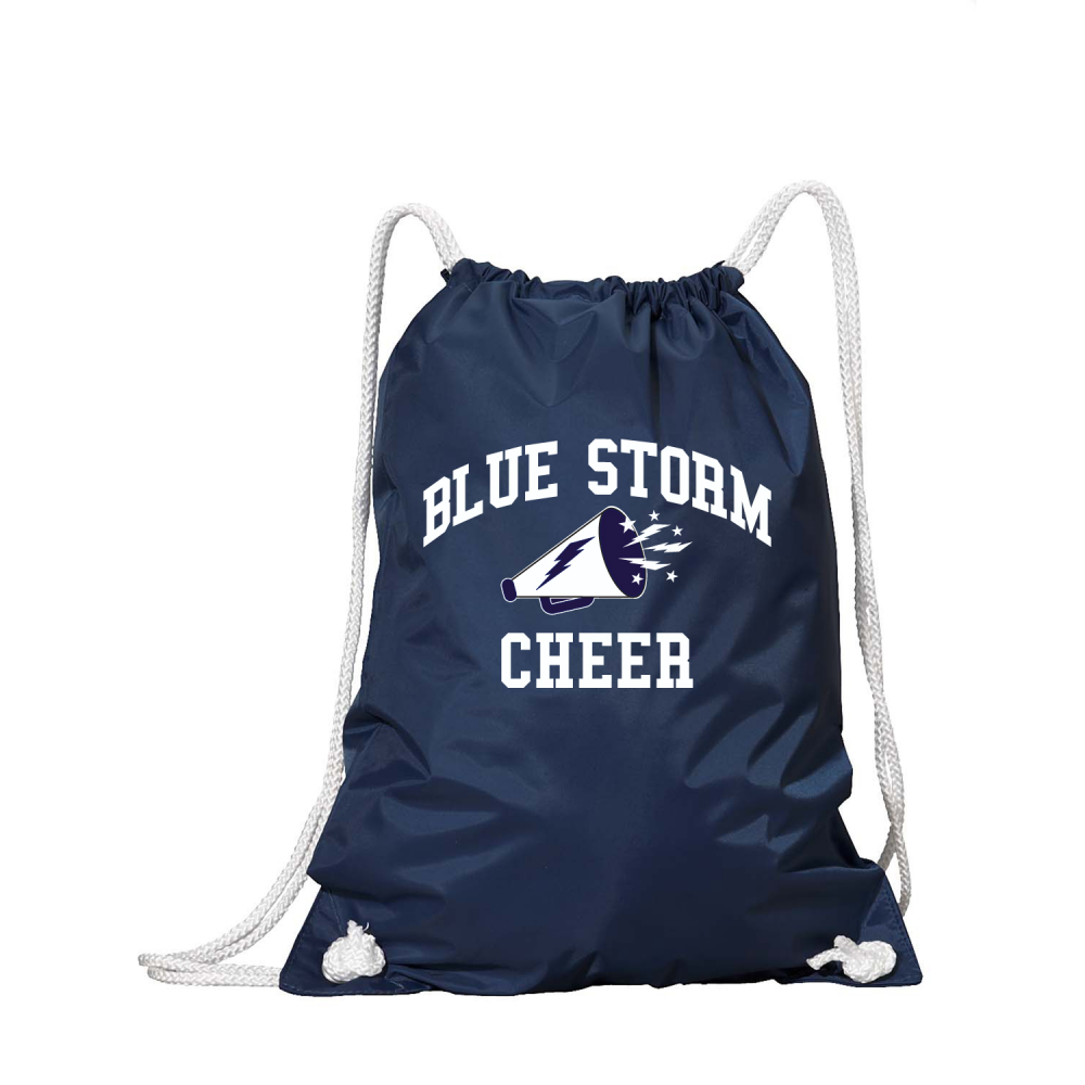 8ce44994057d Blue Storm Cheer » Accessories » Blue Storm Cheer Drawstring Backpack